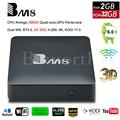 BM8 Android 6.0 4 K Smart TV Box 2G 32G Amlogic S905X Quad Core H.265 Reproductor Multimedia 2.4G y 5G Wifi BT4.0 Mini PC VS T95X TVbox IPTV