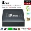 BM8 Android 6.0 4K Smart TV Box 2G 32G Amlogic S905X Quad Core H.265 Media Player 2.4G&5G Wifi BT4.0 Mini PC VS T95X TVbox IPTV