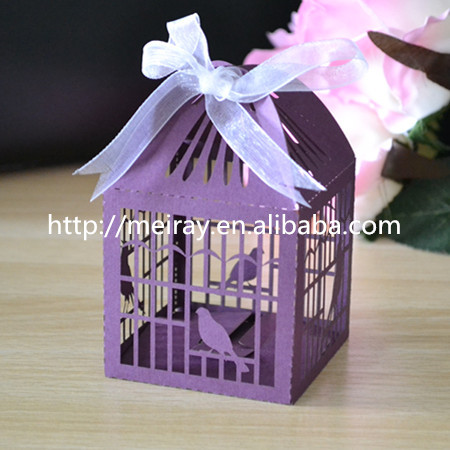 Aliexpress Lovely Bird Cage Laser Cut Party Wedding Favors Candy Bo Invitation Box From Reliable Suppliers On Jinan Mery
