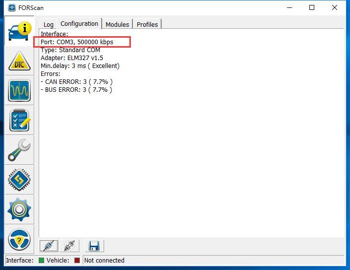 ELM327 USB V1 5 with Switch OBD2 Scanner for Ford ELMconfig Forscan  PIC18F25K80 chip HS-CAN / MS-CAN Code Reader Diagnostic Tool