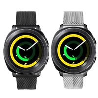 LEONIDAS Milanese Loop For Samsung Gear Sport Band Magnetic Closure Clasp Replacement Strap For Gear Sports