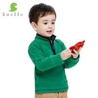Svelte Brand Autumn Winter Boys Kids Soft Fur Coat Fleece Jacket Clothes Children Garcon Sweatshirts Pocket