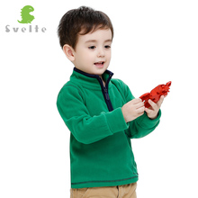 Svelte Brand Autumn Winter Boys Kids Soft Fur Coat Fleece Jacket Clothes Children Garcon Sweatshirts Pocket Jersey