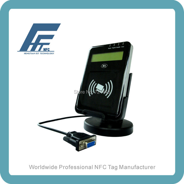 Acr122l lector VisualVantage serie NFC Reader con LCD sin contacto NFC lector de tarjetas