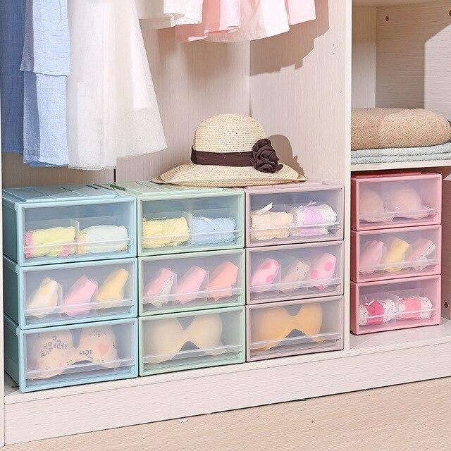 Venta Caliente Moderna Sala De Pl Stico Cajones De Almacenamiento Organizador Caja Calcetines