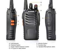 baofeng bf 888s זול Baofeng BF-888s UHF Long Range 5W 888S UHF מכשיר הקשר CTCSS DCS ניידת כף יד דו כיוונית רדיו PMR (2)