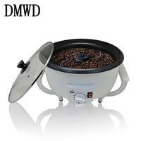DMWD Household Electric Coffee Roasters Temperature Adjustable Dried Fruit Peanut Bean Roaster Coffee Beans Baking Machine