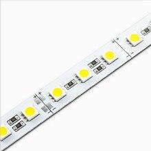 100 pièces barre de led bande lumineuse SMD 5050 72leds/mètre rigide led lumières pour L'éclairage de comptoir vitrine décoration commerciale