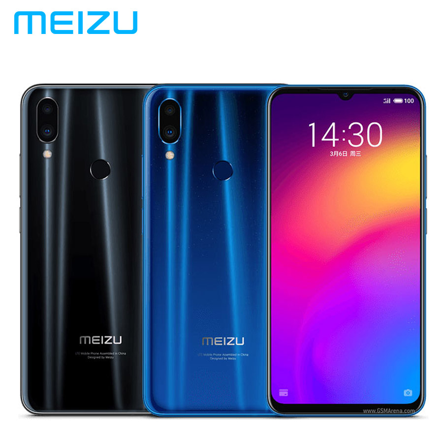 "Brand New MEIZU Note 9 LTE 4G Mobile Phone 4GB RAM 128GB ROM Snapdragon675 Octa Core 6.2""1080x2244p 4000mAh 48MP+5MP Android 9.0"