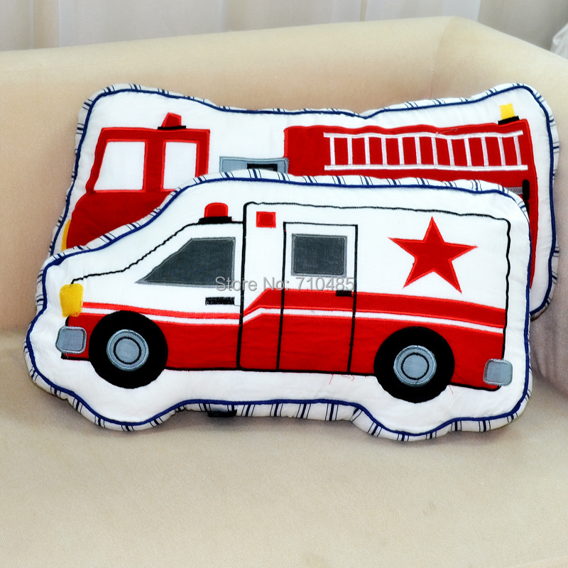 Free Shipping American Style Cynthia Rowley Fire Truck Shaped Extraordinary Cynthia Rowley Decorative Pillows