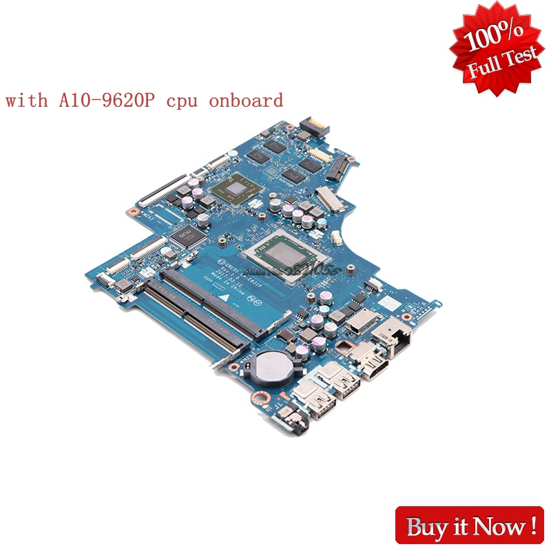 Nokotion CRL51 LA-E831P Main Board For HP NOTEBOOK 15-BW 15-BW033WM Laptop Motherboard With A10-9620P CPU Onboard