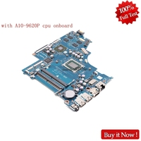 Nokotion CRL51 LA E831P Main board For HP NOTEBOOK 15 BW 15 BW033WM Laptop Motherboard With A10 9620P CPU Onboard