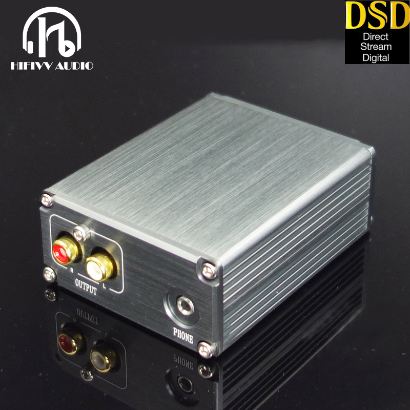 Hifi DAC PC Decoder Of ES9038Q2M And XMOS U208 USB Input RCA And 3.5mm Out To Amplifier DSD PCM Dac