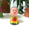 Retail Packing Free Shipping Plastic  Cartoon Home Decoration Coil Spring Novelty  Dancing Monk Toy