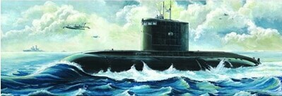 TRUMPETER 05903 1:144 Russian Kilo Class Attack Submarine Model