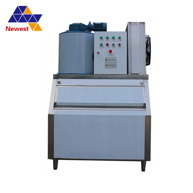 Used Ice Machine >> 0 2t H 0 3t H Water For Flake Ice Maker Making Machine For Fresh Fish Shop Market Home Used Small Flake Ice Machine