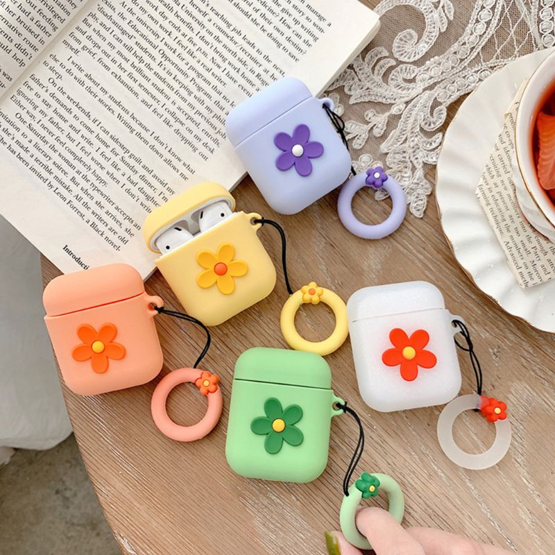 TPU Silicone Bluetooth Wireless Earphone Case For AirPods Protective Cover Skin Accessory for 1/2 Charging Box