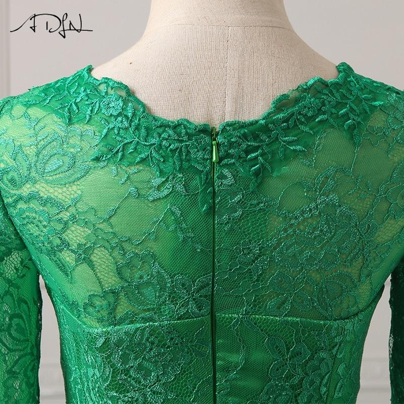 ADLN Billiga Aftonklänningar Långärmad Robe De Soiree Mermaid Lace - Särskilda tillfällen klänningar - Foto 6