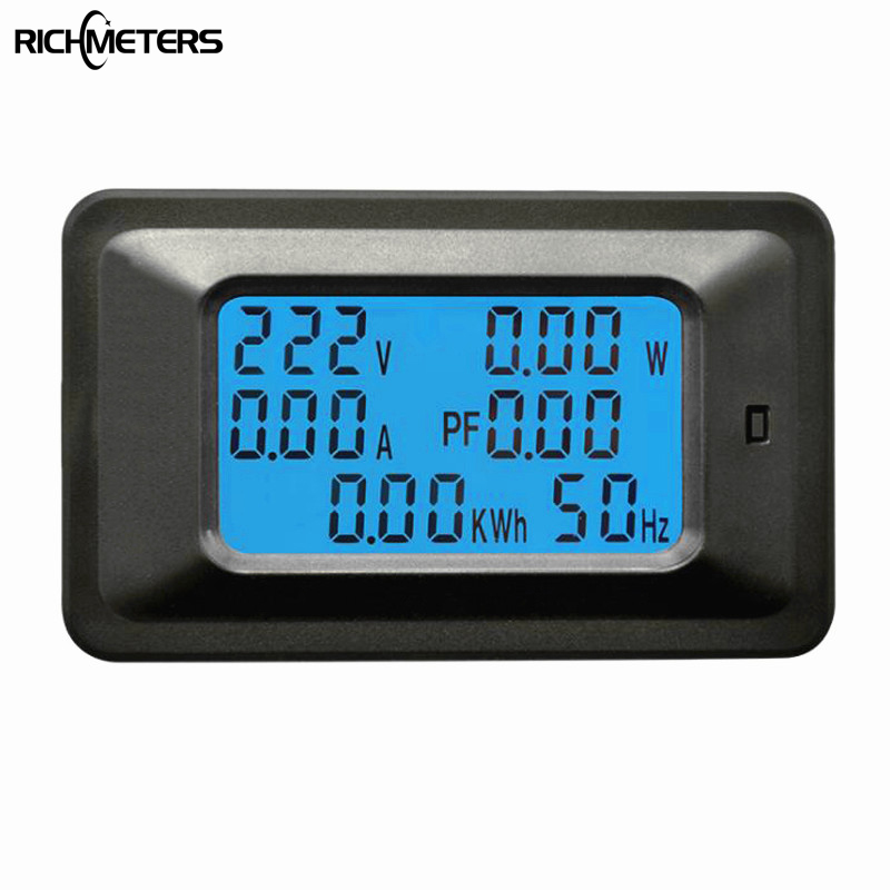 20A Digital Voltage Meter Energiezähler LCD 5kw Voltmeter Amperemeter Aktuelle Amps watt meter tester detector anzeige