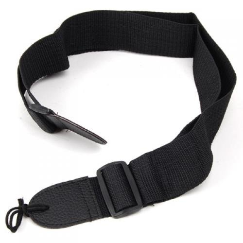 Adjustable Nylon Strap for Acoustic Guitar--Black willam advanced nylon guitar thin strap black 80cm