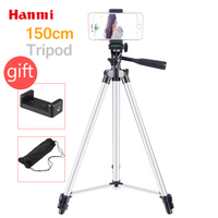 Hanmi New Lightweight Flexible Camera Tripod For Mobile Phone Professional Tripod For Canon Sony Nikon Compact