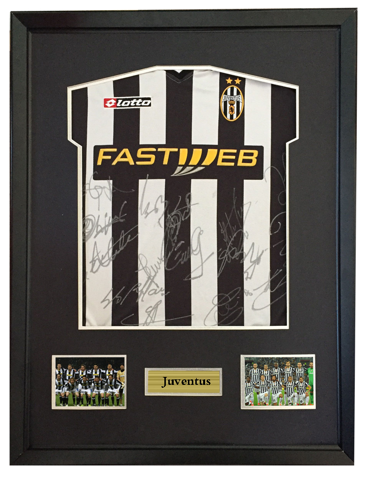 sports shoes 7c1d9 c232f US $2250.0 |Pavel Nedved signed autographed soccer shirt jersey come with  Sa coa framed Juventus 02 03 season-in Frame from Home & Garden on ...