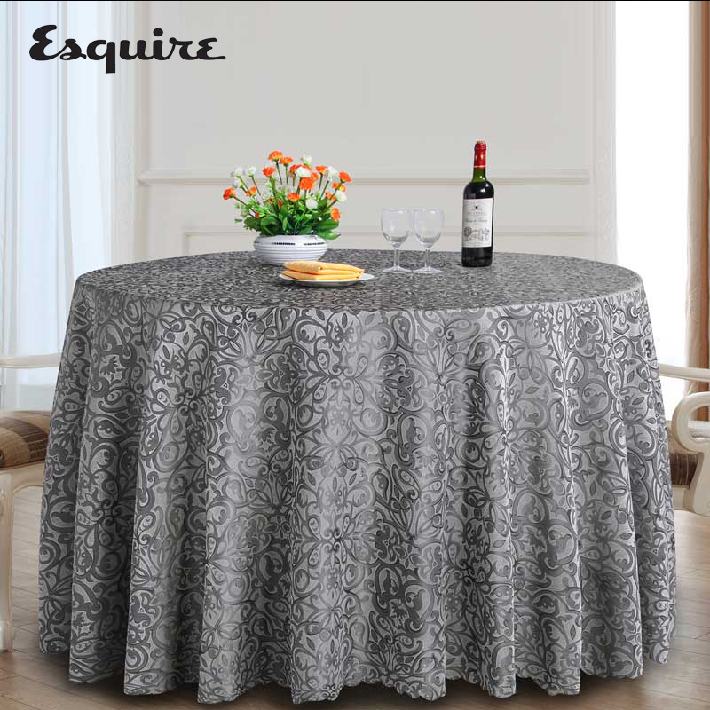 ESQUIRE Table Cloth Europe Hotel Tablecloth Restaurant Banquet Multi Size Round Or Rectangular For Home Dining Table Cover