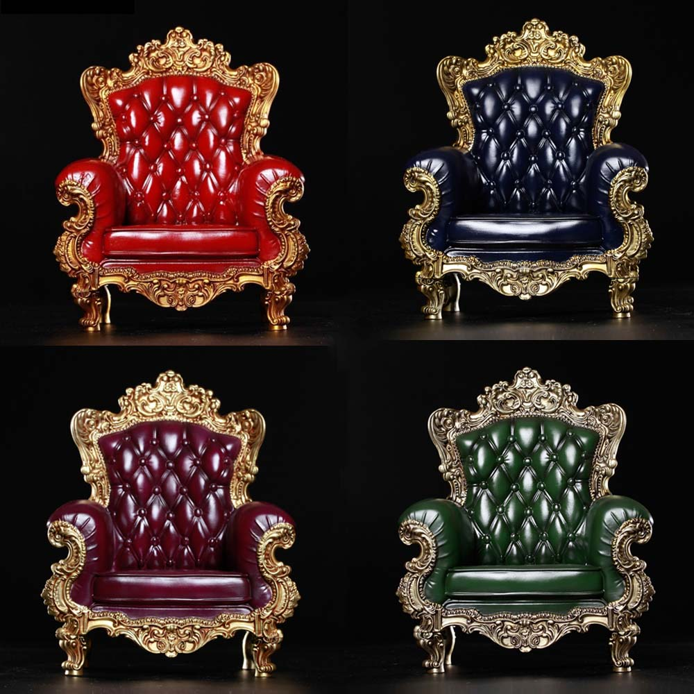 Collection 1/6 Scale British Single Sofa Model red/green/blue/purple Figure Scene for 12 action figure doll 1:6 AccessoriesCollection 1/6 Scale British Single Sofa Model red/green/blue/purple Figure Scene for 12 action figure doll 1:6 Accessories