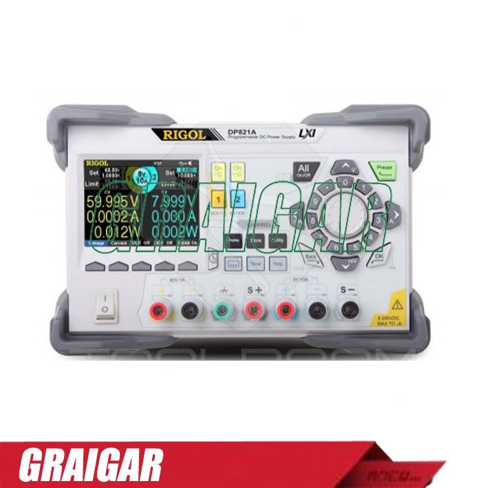 Rigol DP821A 2 channels Programmable Linear DC Power Supply 1pc rigol dp832 programmable linear dc power supply 3 channels