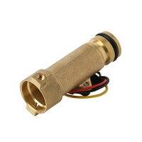 Medidor de fluxo do salão do sensor da turbina do calefator da taxa do medidor do sensor de fluxo da água da lareira para aquecedores de água g1/2 0.3-10l/min 2.0mpa DC3-24V