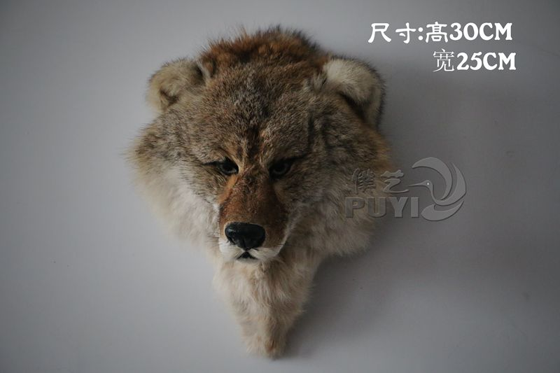 large 30x25cm simulation wolf head toy model home decoration gift h1136 large 21x27 cm simulation sleeping cat model toy lifelike prone cat model home decoration gift t173