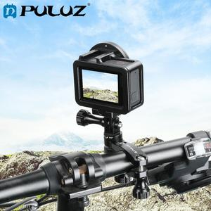 Image 1 - PULUZ 360 Degree Rotation Bike Aluminum Handlebar Adapter Mount & Screw for GoPro HERO7/6/5/4 Session /3+/DJI OSMO Action/Xiaoyi