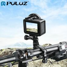 PULUZ 360 도 회전 자전거 알루미늄 핸들 바 어댑터 마운트 및 나사 GoPro HERO7/6/5/4 세션/3/DJI OSMO 액션/Xiaoyi