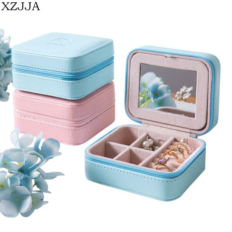 Acheter XZJJA Creative Multicouche Boîte à Bijoux Portable Boîte De Rangement Anneau De Collier De Mariage D'anniversaire Cadeau Boîte de storage box fiable fournisseurs