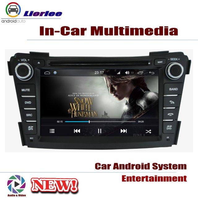 Lecteur DVD de voiture pour Hyundai i40 2011 ~ 2019 IPS écran LCD Navigation GPS système Android Radio Audio vidéo stéréo 3