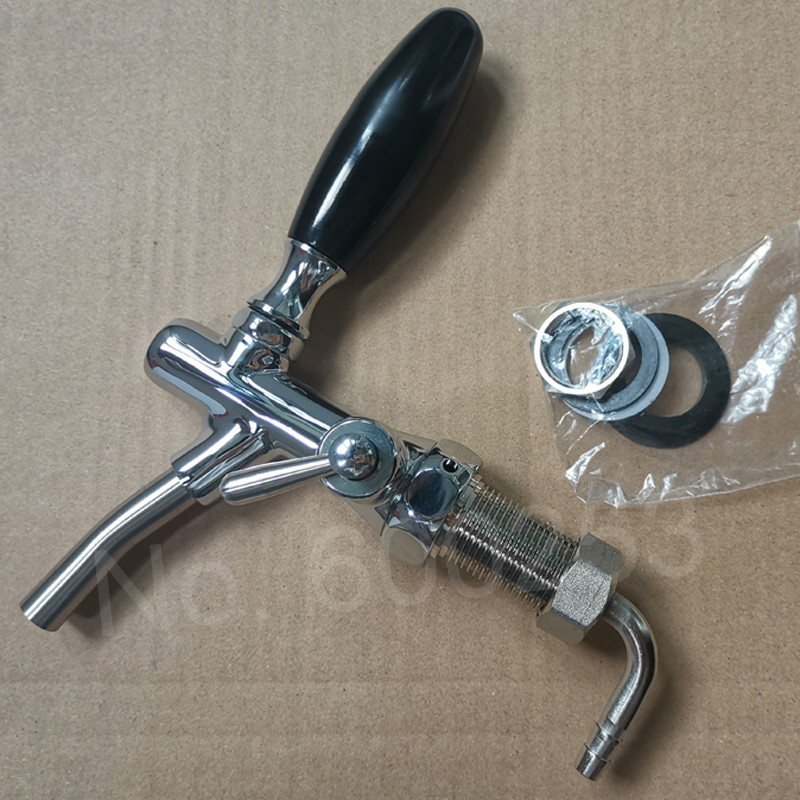 New Home Brew Beer Faucet  Beer Tap Adjustable Faucet Chrome Plating Homebrew Making Tap Drink Tap Bar Accessories