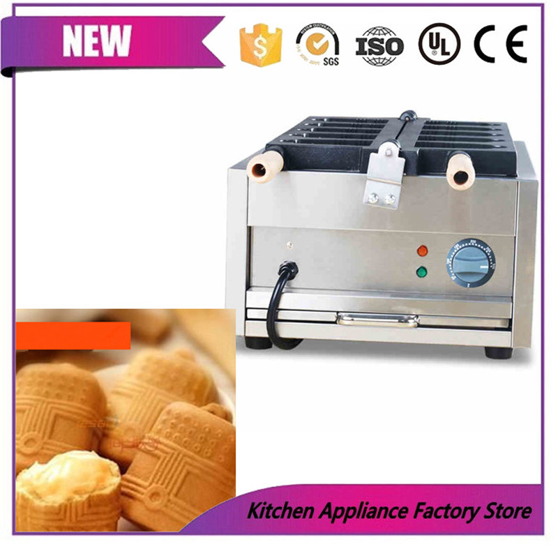Free shipping by express 110V 220V ice cream Hanging bell machine Hanging bell waffle maker machine - 3