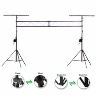 KUILONG mobile truss system /Truss L002 Lighting Stand with duty crank stand