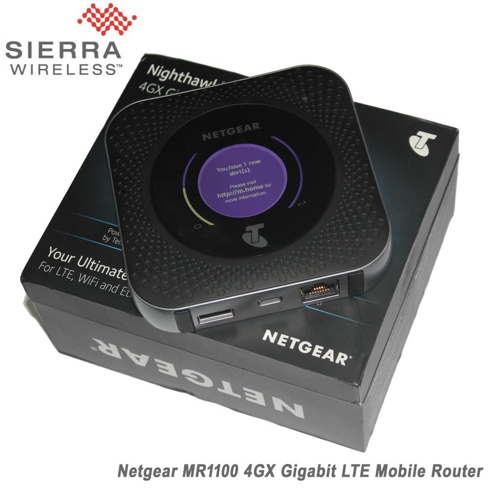 Netgear MR1100 1 gb Cate 16 4GX Gigabit 4g LTE Mobile Carte Sim Routeur Pour LTE, wiFi Et Ethernet Connexion