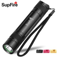 Supfire S5 Wiederaufladbare Taschenlampe Cree XPE 300 LM Led-taschenlampe Helle Wasserdichte Licht Tragbare Taschenlampe