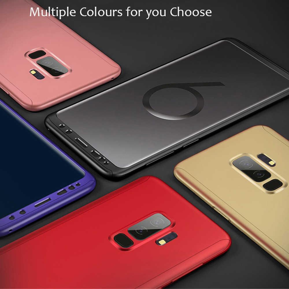 Case For Samsung Galaxy J6 J3 J4 J5 J7 J8 J2 S6 S7 S9 A3 A5 A6 A7 A8 A9 Note 3 4 5 Star Plus Prime 2017 2018 360 Full Case