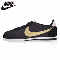 NIKE CLASSIC CORTEZ NYLON Men's Running Shoes Lightweight Breathable Outdoor Sneakers Shoes 807471 012