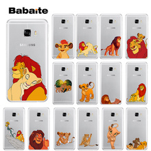 Babaite The Lion King Best Coque Transparent TPU Soft Silicone Phone Cover for Samsung S5 S6 S6 edge Plus S7 S8 S8plus S9 S9plus lantro js phone sceen protector for samsung s7 edge s7 s6 edge s6 edge s8 s8plus s9 s9plus 3d cured full screen 0 2mm thickness