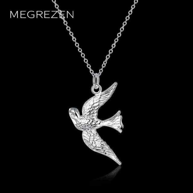 Megrezen wonder woman charms bird pendants necklaces joyas silver megrezen wonder woman charms bird pendants necklaces joyas silver anime choker vintage jewelry accessories wholesale china aloadofball Images