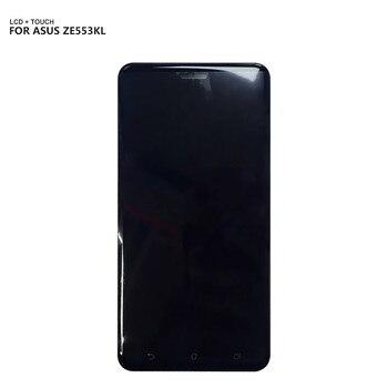 Đối với ASUS ZenFone 3 Zoom ZE553KL LCD Hiển Thị Màn Hình Cảm Ứng Digitizer Hội Thay Thế Đối Với ASUS Z01HDA LCD Với Khung