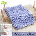 Hot! Crochet Knit lã tapete sentiu fundo Blanket fotografia adereços fotográficas cenários recém-nascido adereços cesta Stuffer foto