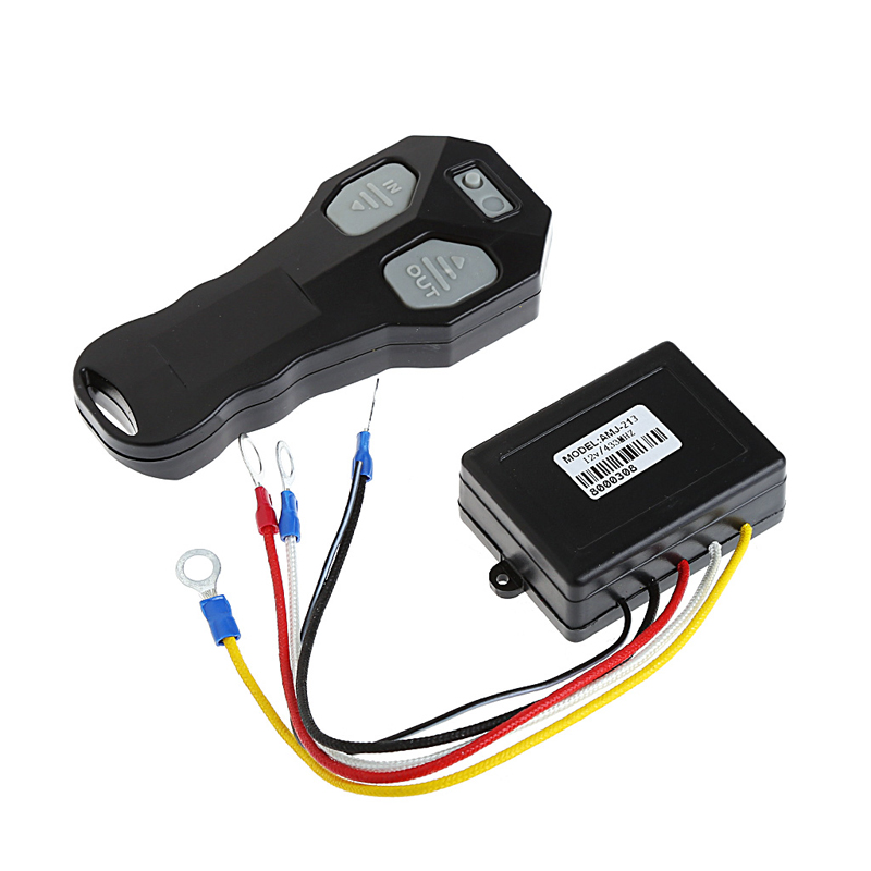 Wireless DC 12V Remote Control Winch Kit For Bulldog Jeep ATV SUV Offroad Auto Remote Controls Car Electronics 2017