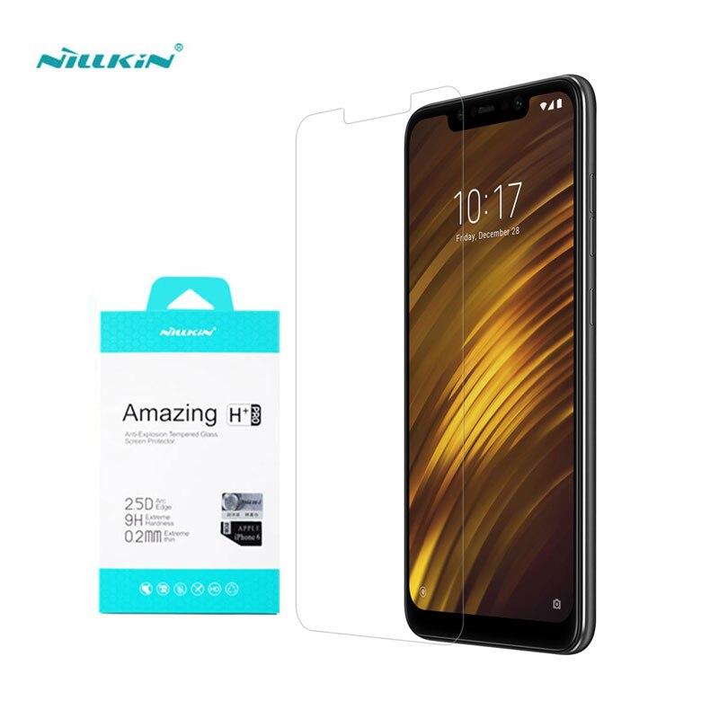 Xiaomi Pocophone F1 de vidrio templado Nillkin increíble H + Pro 0,2mm Protector de pantalla de vidrio para Pocophone F1 POCO