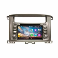 Android 7 1 Quad Core 7 Car Radio Dvd GPS Multimedia Head Unit For Toyota Lander