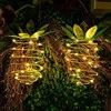 Pineapple LED solar lights 1